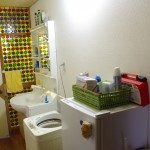 Wash-up area, Washing machine of 2nd floar
